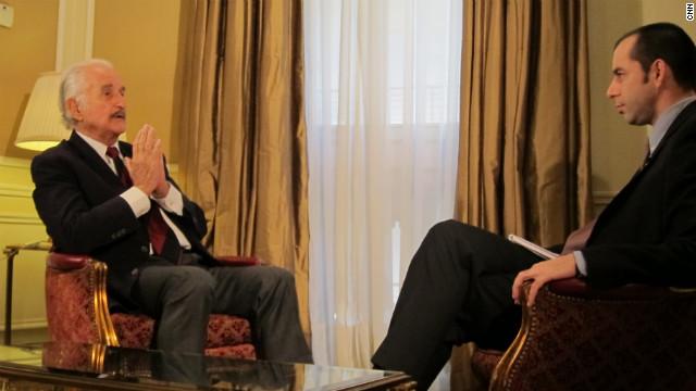 La última entrevista a Carlos Fuentes en CNN en Español
