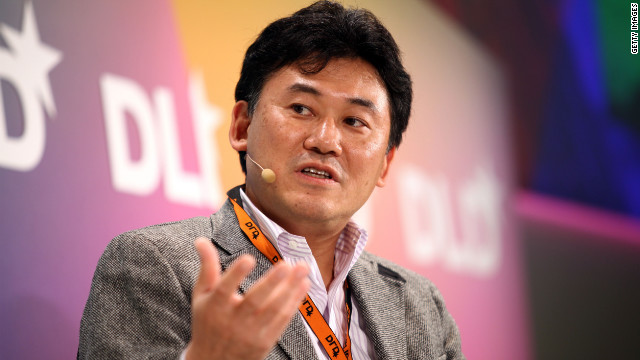 Hiroshi Mikitani, CEO of Japanese company Rakuten, has made his company an 