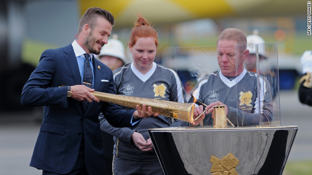 The Olympic torch relay will begin on Saturday at Land's End in the southwestern tip of England.