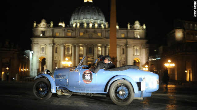 The Mille Miglia, or &quot;Thousand Miles,&quot; is a grand tour from Brescia in northern Italy, down to the capital city of Rome, and back again. Today, it is a leisurely classic car event. But it has a far racier history...