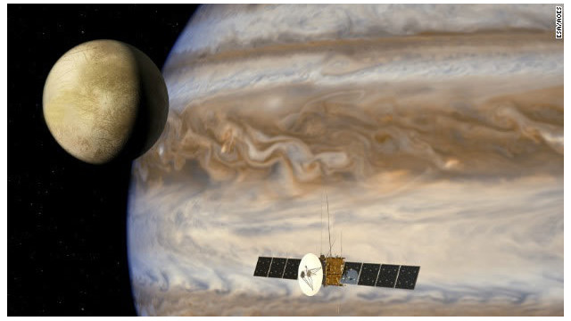 JUICE, la nave que explorará las lunas de Júpiter