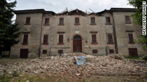 Authorities are still assessing damage in northern Italy. 