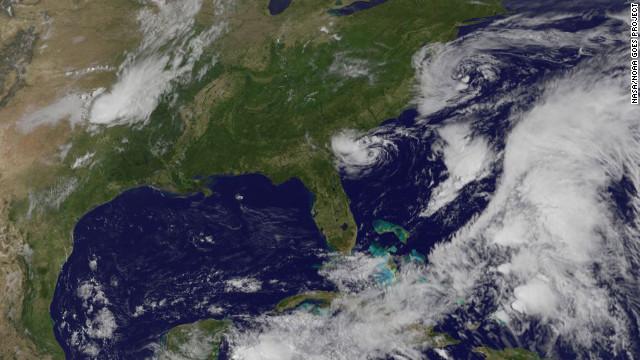 La tormenta tropical Alberto pierde peligrosidad
