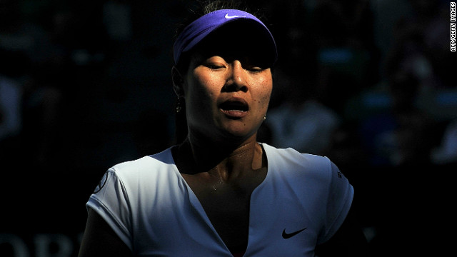 """Having the unique opportunity to effectively bring more attention to the sport of tennis in China and all over Asia is something I will cherish forever,"" said Li on her Facebook page."