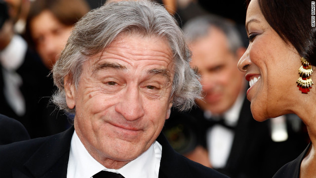 "Robert De Niro and his wife, Grace Hightower, attend the ""Once Upon A Time in America"" screening. De Niro plays an ex-gangster in the restored 1984 classic Italian film."