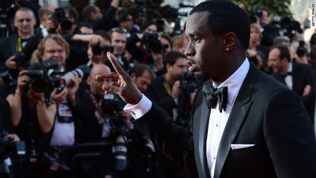 "Rapper-producer Sean ""Diddy"" Combs attends the screening of ""Lawless"" on Saturday, May 19."