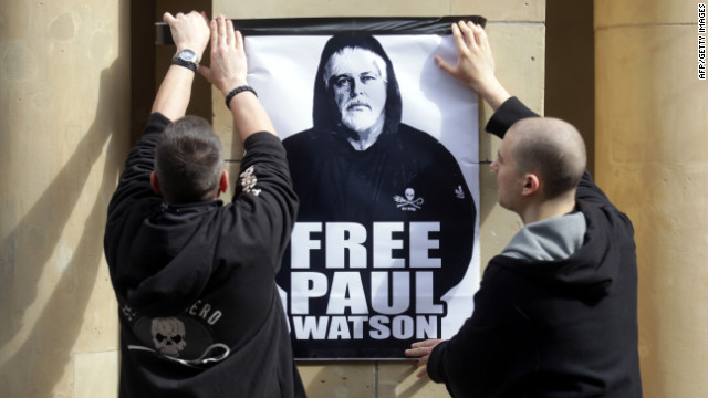 &#039;Whale Wars&#039; captain freed on bail from German jail
