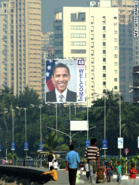 In the lead-up to his visit, Indian officials even had coconuts removed from their trees to protect Obama from the falling fruit, acccording to the BBC.