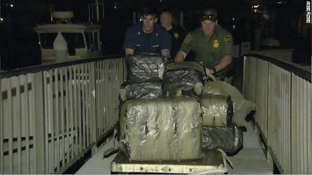 Four tons of marijuana pulled from ocean off California
