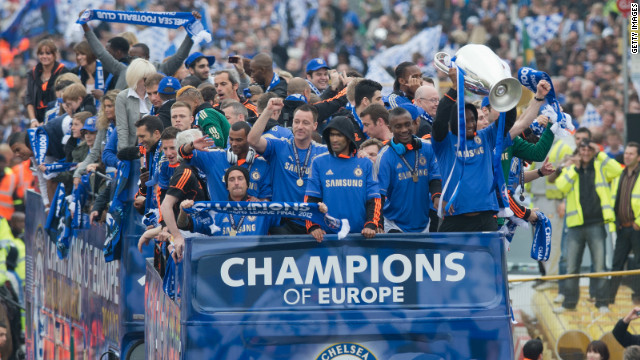 Chelsea's brand value was significantly boosted by the European triumph. The west London club, backed by Russian billionaire Roman Abramovich, is ranked fifth on the list valued at $398 million.