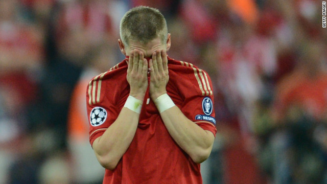 Bayern Munich's players and fans were distraught after losing Saturday's European Champions League to Chelsea, but the German team's brand was second on the list, valued at $786 million.