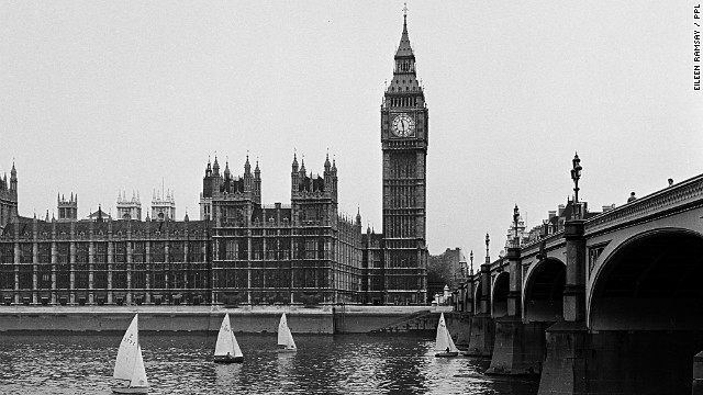 Ramsay made sure she was present for the first dinghy race in central London, which was held on the river Thames in 1956.