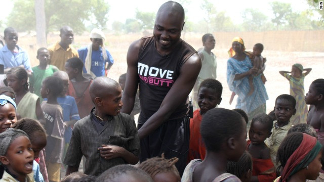 """What makes me the proudest is to see them smile, dance and laugh,"" says Ahmed."