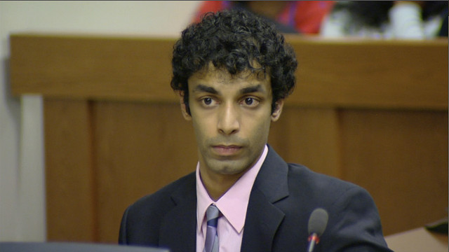 Ex-Rutgers student Dharun Ravi appears in court, one day before jail term