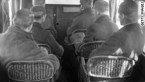 Airplane seating has come a long way since 1925, when German airline seats looked like this.
