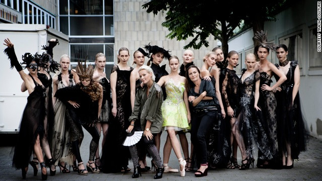 Trash-Couture say they want to show that sustainable fashion can be sexy and desirable but with less impact on the planet.