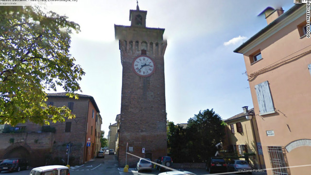 A magnitude 6.0 earthquake shook northern Italy on Sunday, killing at least seven people and destroying centuries-old landmarks including the clock tower in Finale Emilia.