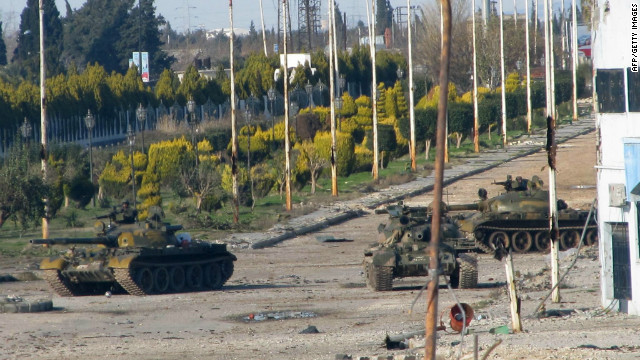 Nato has no plans for intervention in Syria, despite growing violence.