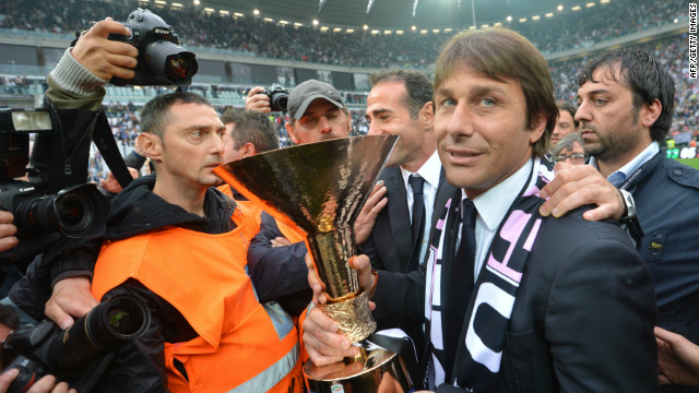 Juventus coach Antonio Conte, a former fans' favorite as a player, has transformed his side's fortunes since taking charge at the start of the 2011-12 season.