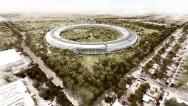 Así es el nuevo campus espacial de Apple