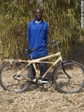 The bamboo bikes are mainly aimed at the international market, with countries such as Japan, Singapore, Germany, Brazil, Finland and the United States driving demand.
