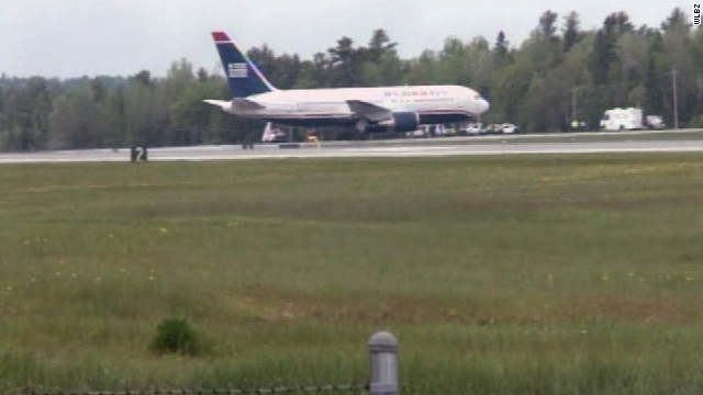 US Airways jetliner diverted on flight over Atlantic