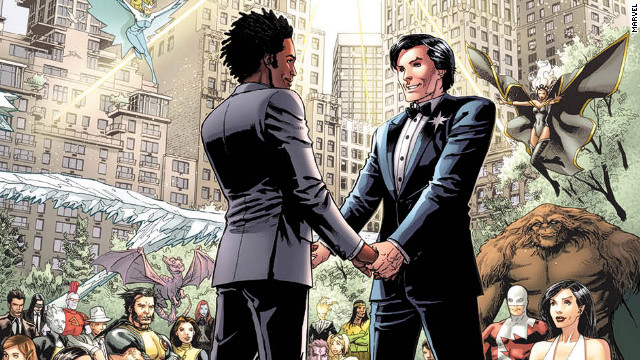 Marvel Comics invites you to a Super Marriage