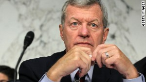 Sen. Max Baucus\' committee will examine whether the charity deserves tax-exempt status.
