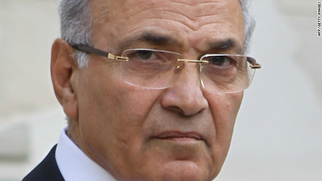 Former Egyptian Prime Minister Ahmed Shafik pictured on February 21, 2011.