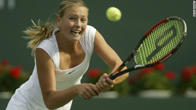 Sharapova was spotted at an early age by former great Martina Navratilova and after moving to the United States she was enrolled into the famous Nick Bollettieri Tennis Academy in Florida at the age of nine.