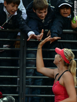 Despite never having won at Roland Garros, Sharapova is in good form in 2012, losing just once on clay this season. Most recently, she successfully defended her Italian Open title to offer hope she can finally win the French Open and complete a career slam.