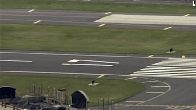 A runway at Philadelphia International Airport was temporarily closed when a pilot thought he saw a flare shot into the sky.