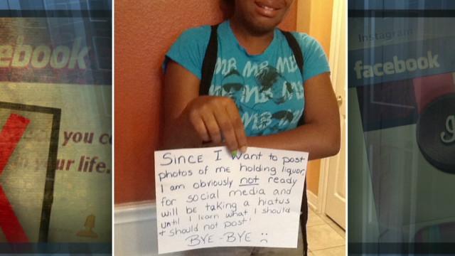 Madre castiga a su hija avergonzándola en Internet