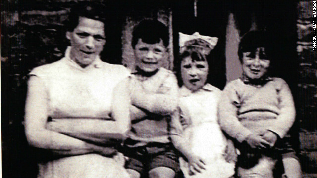 Jean McConville (left) with three of her 10 children. McConville's murder was one of the most infamous in the violence that became known as The Troubles.