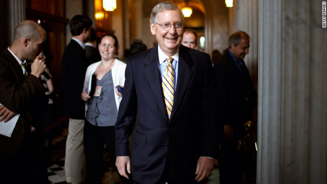 Senate Minority Leader Mitch McConnell, R-Kentucky, said Democrats 