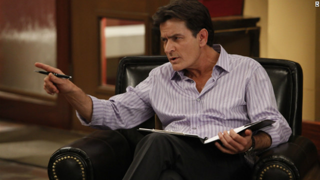 Charlie Sheen on 'Anger Management': This time, I'm playing an adult