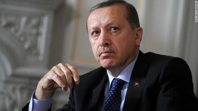 File photo of Turkish Prime Minister Recep Tayyip Erdogan, who said one person was killed in the bombing.