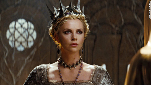 "Charlize Theron starred more recently as Queen Ravenna in ""Snow White and the Hunstman,"" a 2012 silver screen take on the original fairytale."