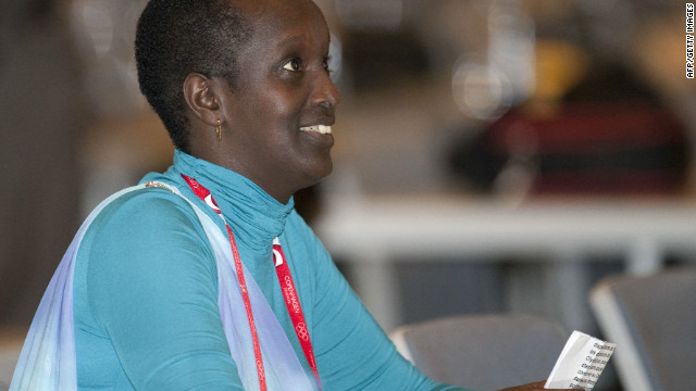 Burundi's Lydia Nsekera is becoming an influential figure with both FIFA and the International Olympic Committee.