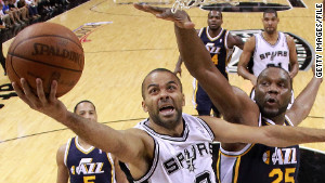 Tony Parker has rebounded from a tumultuous 2011 with an MVP-caliber season.