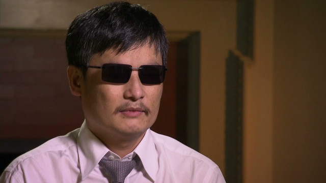 Chen Guangcheng says local authorities are handling his nephew's case the same way they handled his.