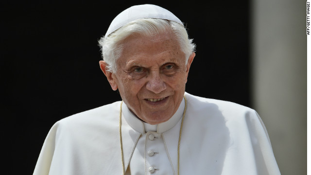 Pope Benedict signals trip to United States in 2015