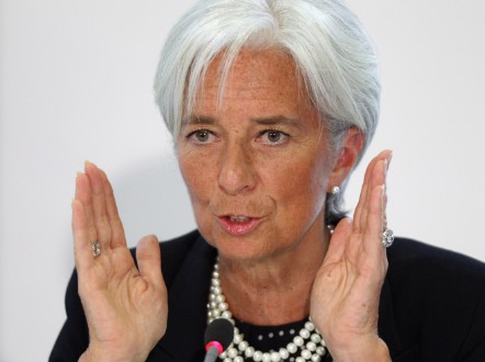 Christine Lagarde has held the role of managing director of the IMF since taking over from Dominique Strauss-Kahn in 2011.