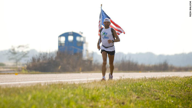 Baluchi has ran across the United States on two occasions and around its perimeter once. His latest challenge is his biggest yet, to run up Mount Everest.