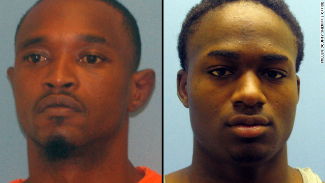 Cortez Rashod Hooper and Quincy Vernard Stewart escaped from jail on Monday.
