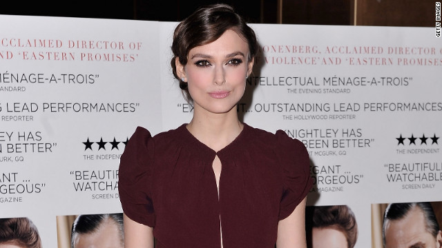 Keira Knightley attends the film premiere of