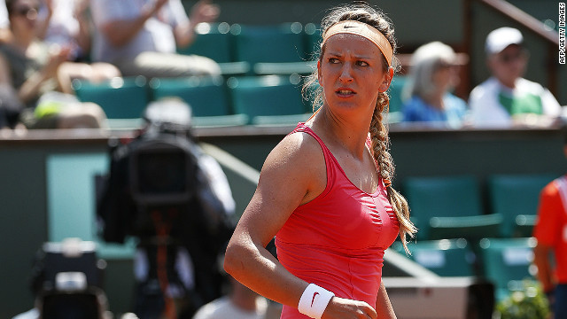 World No. 1 Victoria Azarenka made hard work of her opening round match at the French Open