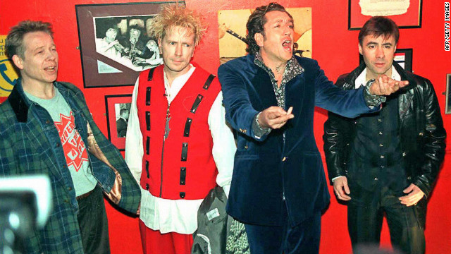 Sex Pistols re-release 'God Save the Queen'