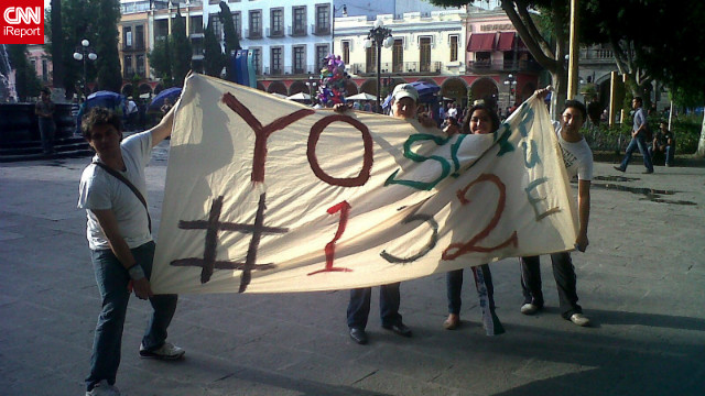 Jóvenes de #YoSoy132 buscan evitar que Peña Nieto gane la presidencia