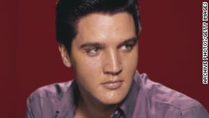 Cultural icon Elvis Presley, pictured circa 1956, has been called \